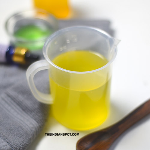 BEAUTY DIY: HERBAL VINEGAR HAIR RINSE FOR THICKER HAIR