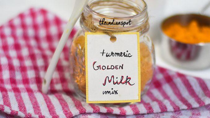 HEALTH DIY: HOMEMADE TURMERIC GOLDEN MILK MIX