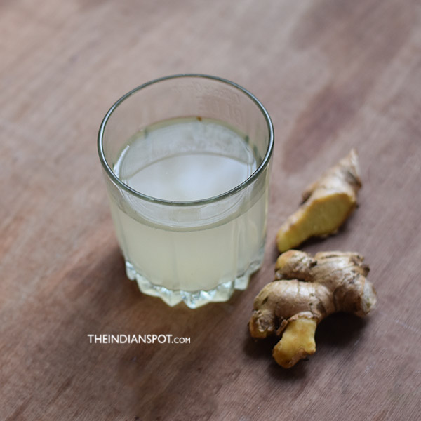 Ginger Tonic for Sore Throat