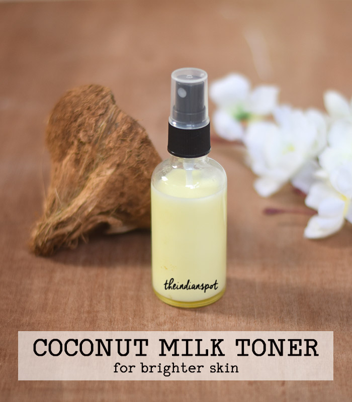 BEAUTY DIY: COCONUT MILK TONER FOR BRIGHT AND GLOWING SKIN