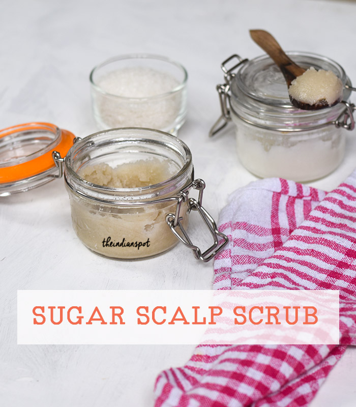 DIY: DEEP CLEANSING SUGAR SCALP SCRUB