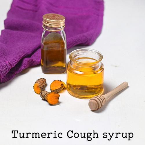 Turmeric Cough tonic: