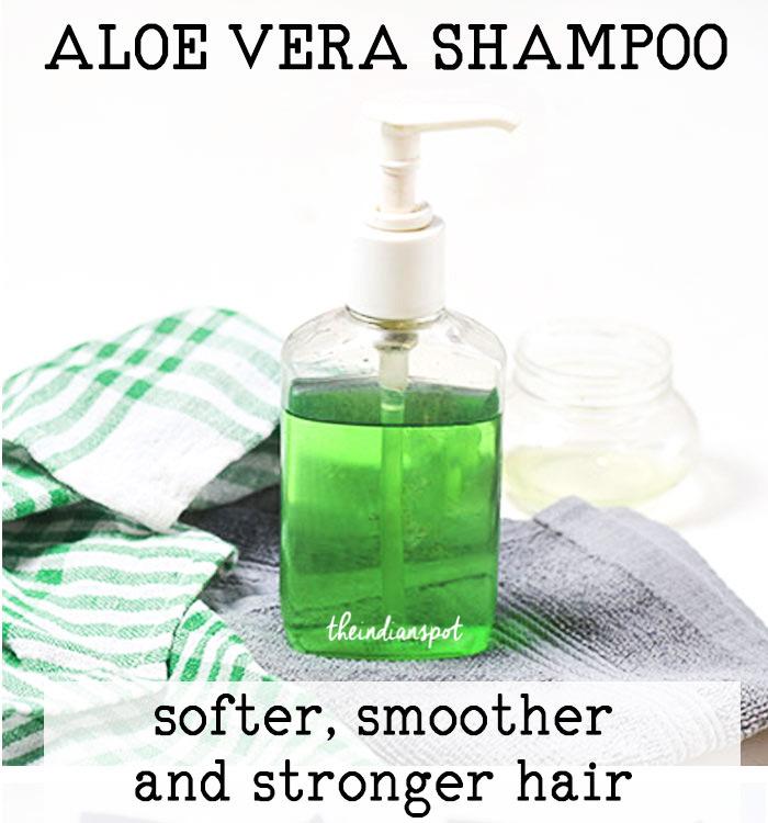 DIY: ALOE VERA SHAMPOO FOR STRONGER HAIR
