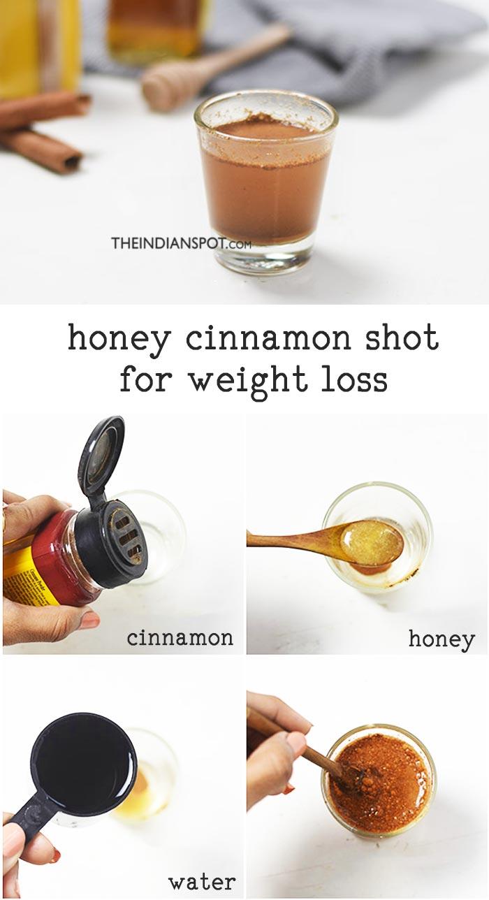 HONEY CINNAMON SHOT FOR WEIGHTLOSS