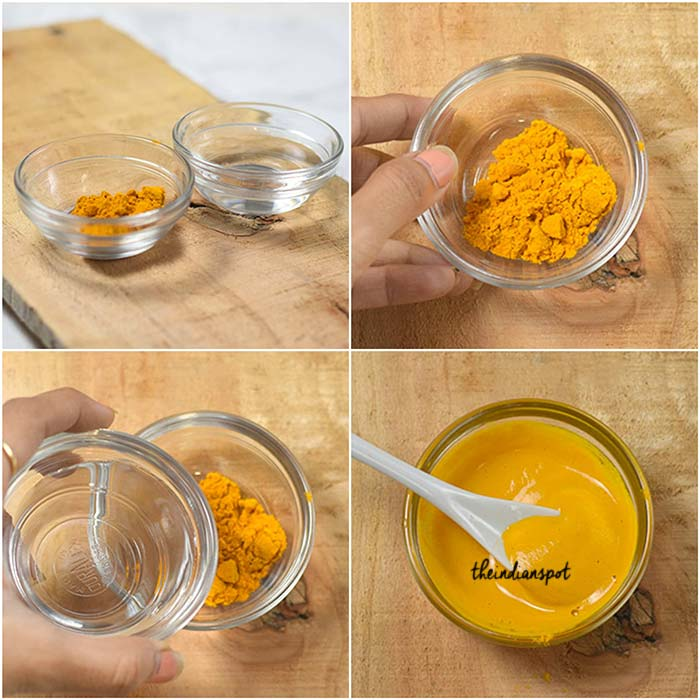 COCONUT OIL AND TURMERIC FACE MASK FOR OILY SKIN
