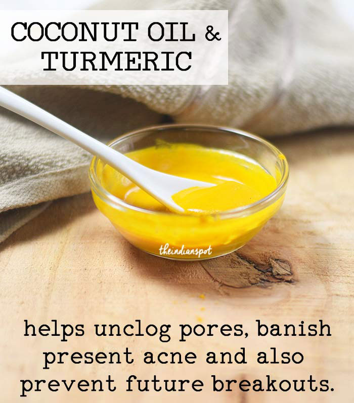 Coconut Oil And Turmeric Face Mask For Oily Skin The Indian Spot