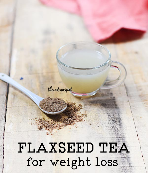 FLAXSEED TEA FOR DETOX AND WEIGHT LOSS