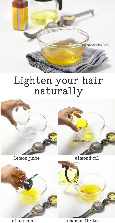 Highlight Your Hair - Lemon juice can lighten your hair naturally