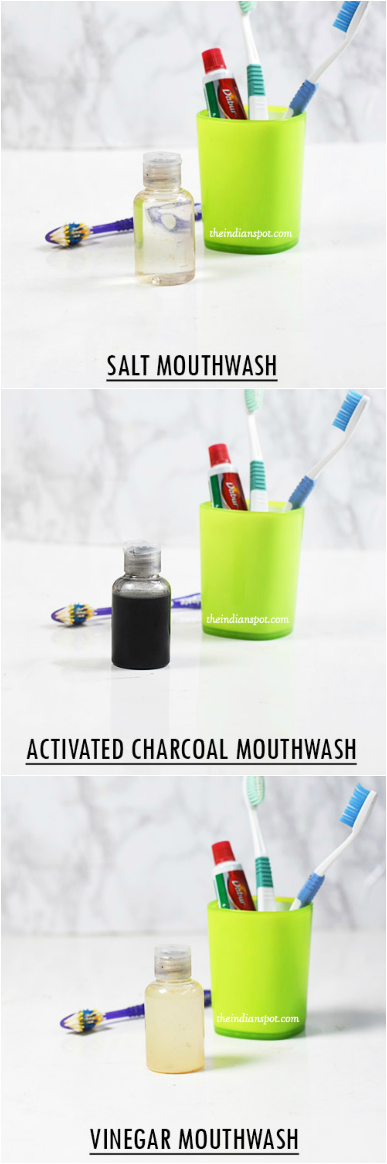 All-Natural Mouthwash recipes to get whiter teeth
