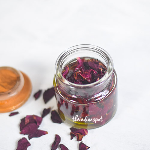 ROSE OIL USING DRIED ROSE