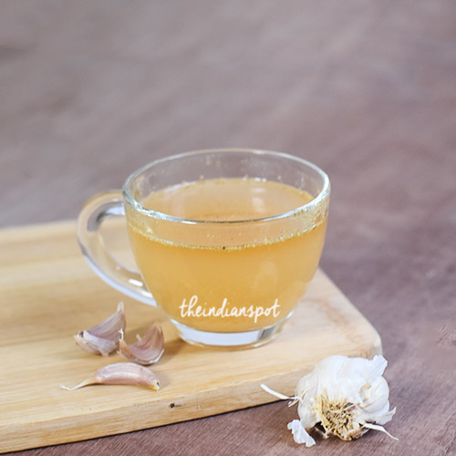 GARLIC TEA FOR COUGH AND COLD