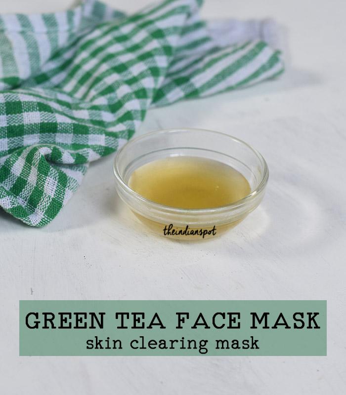 DIY: OVERNIGHT SKIN CLEARING GREEN TEA MASK