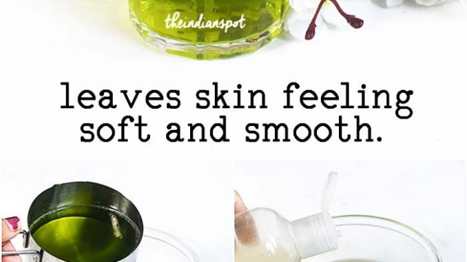 DIY ALOE VERA BODY WASH for healthy skin