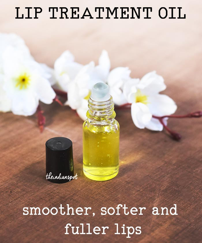 LIP TREATMENT OIL smoother, softer and fuller lips