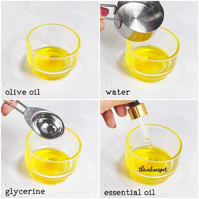 Olive oil Hair Spray