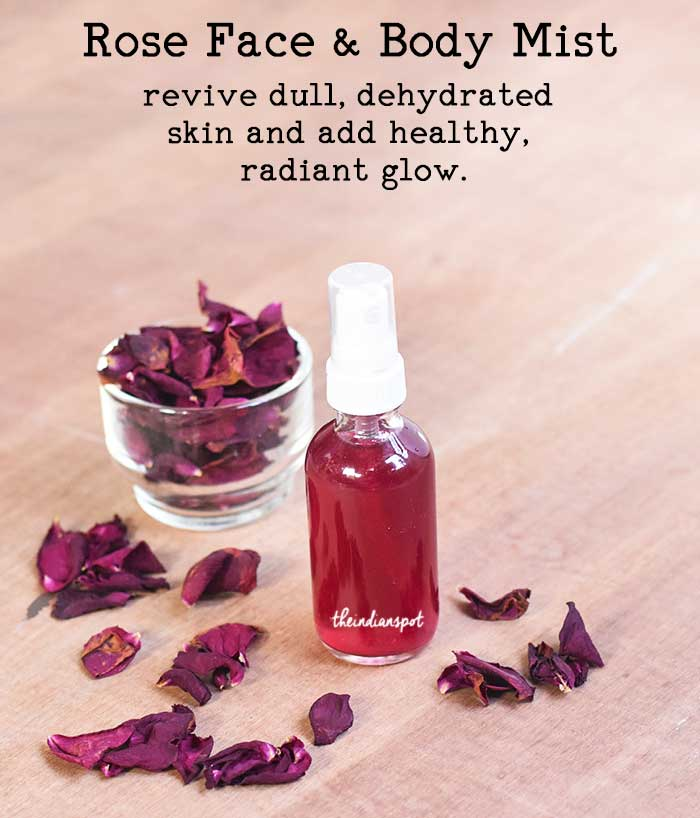 Rose Face, Hair and Body Mist