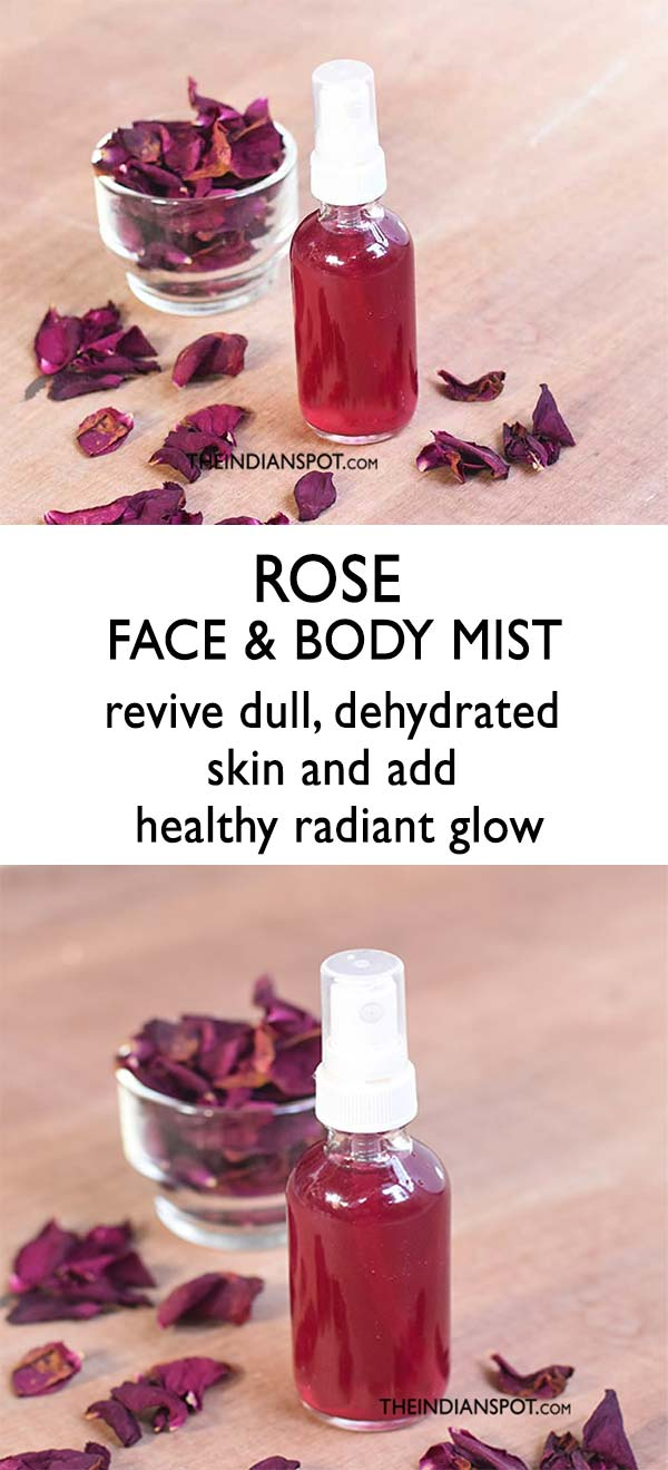 Rose Water Spray Benefits Of