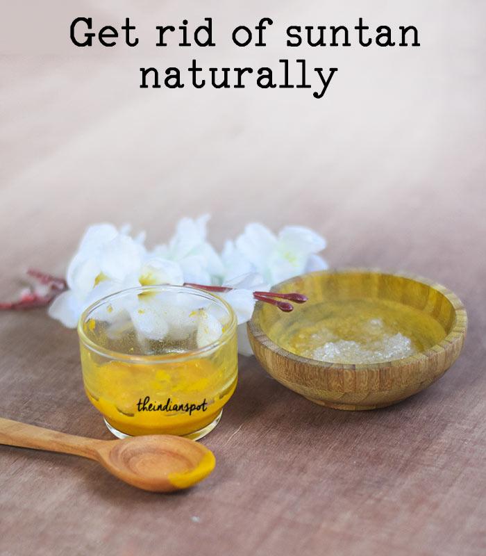 Get rid of suntan with Summer Suntan Lightening Mask and scrub