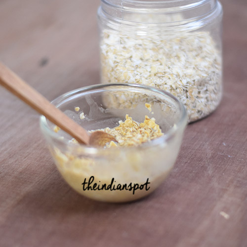 OATMEAL SCALP SCRUB FOR DRY AND ITCHY SCALP