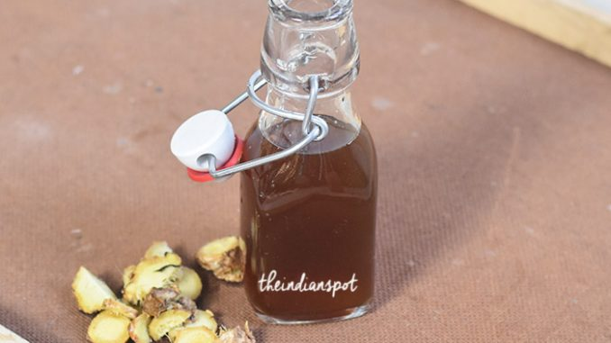 GINGER SYRUP AND WAYS TO USE IT