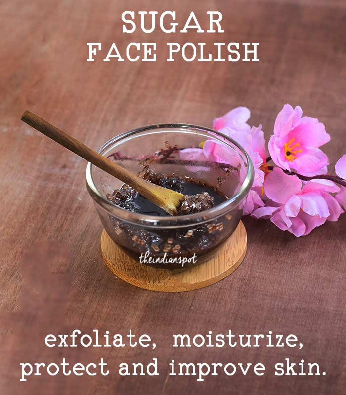 SUGAR FACE POLISH to protect and improve skin