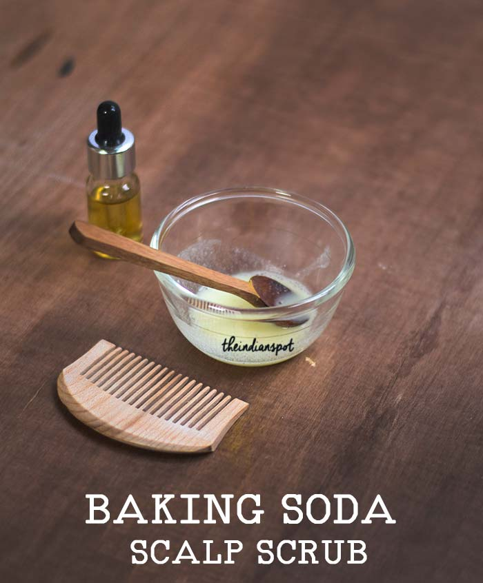 Clarifying Baking soda Scalp Scrub