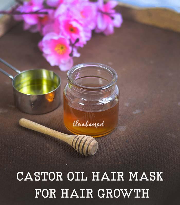 CASTOR OIL HAIR MASK FOR HAIR GROWTH