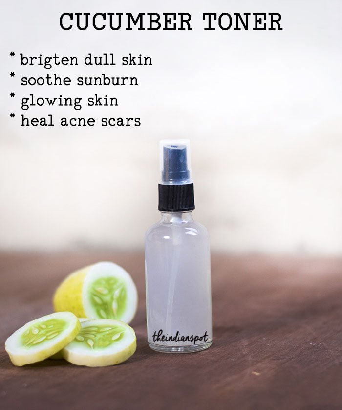 Cucumber Toner for smooth glowing skin