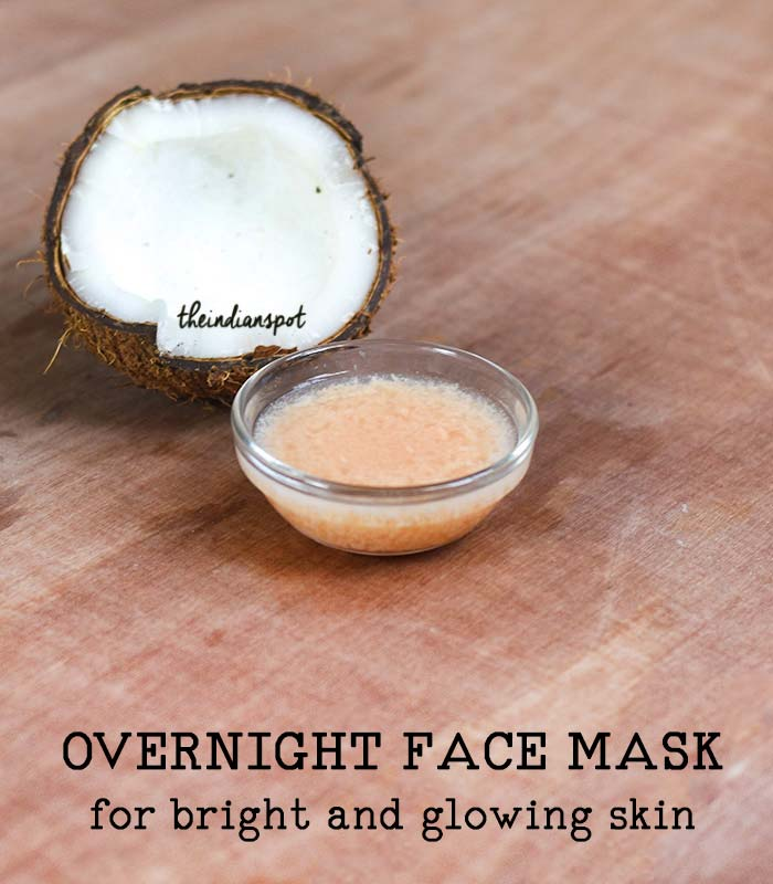 overnight face mask