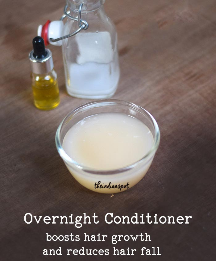 Overnight Deep Conditioning to stop hair fall