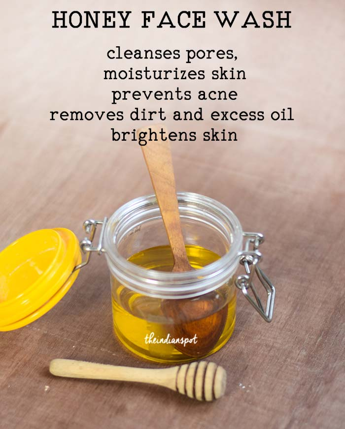 2 INGREDIENT Honey Face Wash for sensitive skin