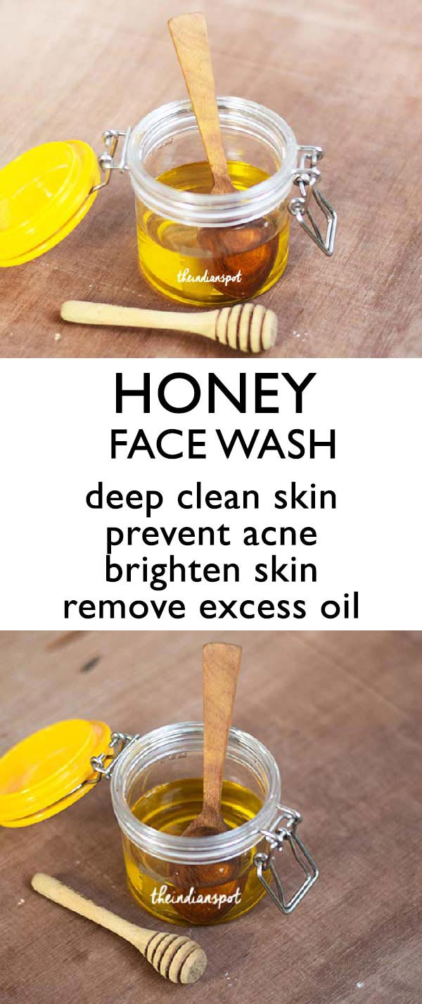 2 INGREDIENT Honey Face Wash for oily skin