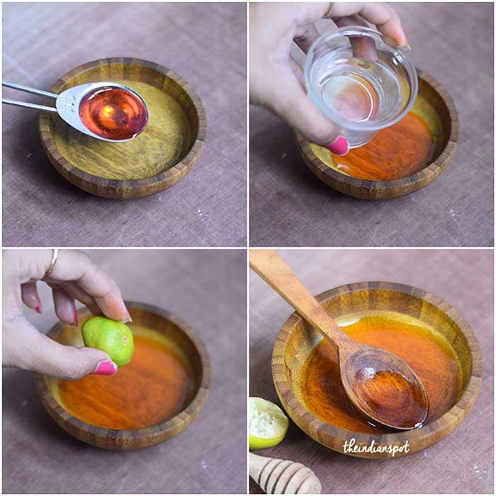 Shrink Pores Naturally with honey