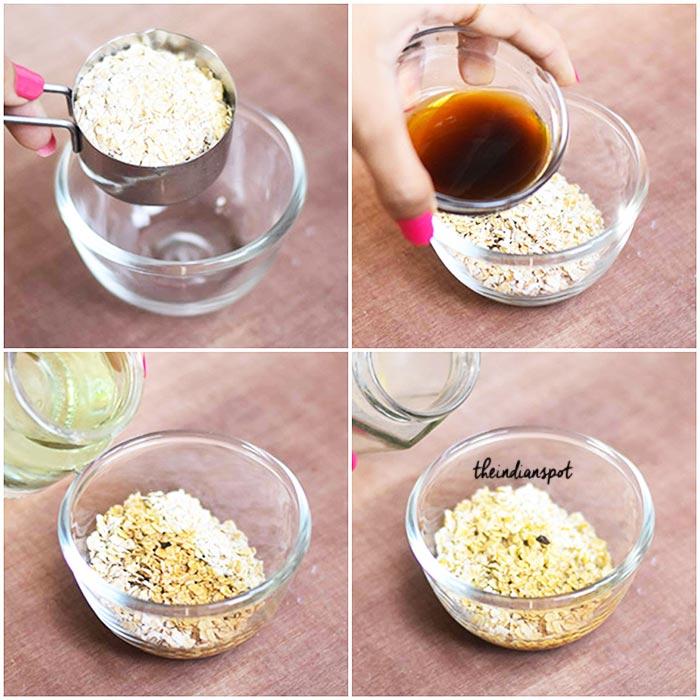 Exfoliating Oatmeal Scalp Scrub