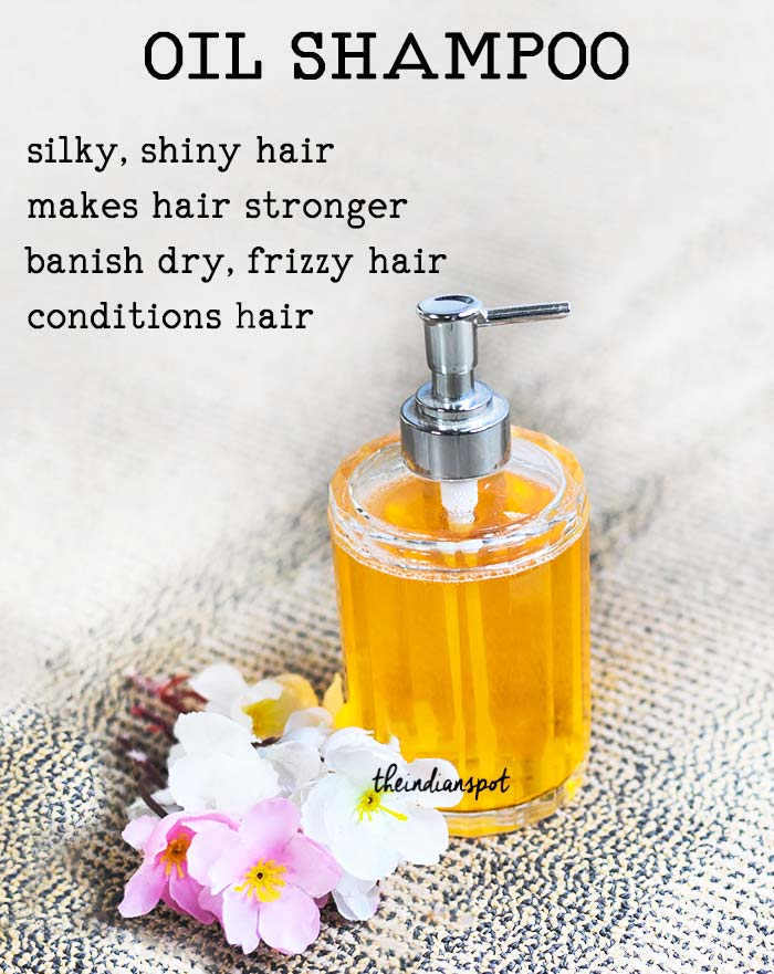 DIY: Oil Shampoo for shiny, soft hair