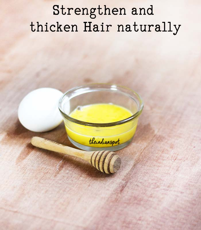 Strengthen and thicken Hair naturally