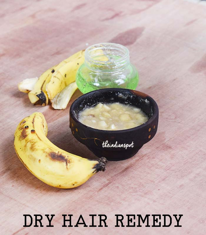 DRY HAIR AND SCALP REMEDY with ALOE VERA