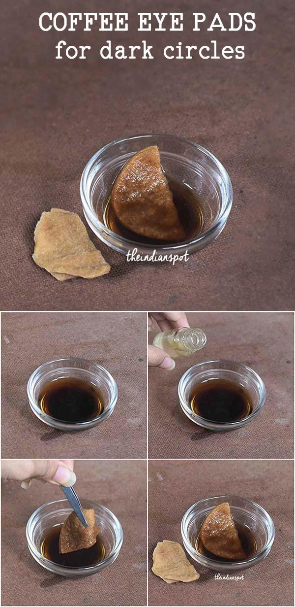 COFFEE EYE PADS FOR DARK CIRCLES