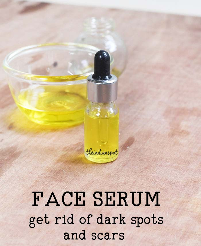 FACE SERUM TO GET RID OF SCARS AND DARK SPOTS