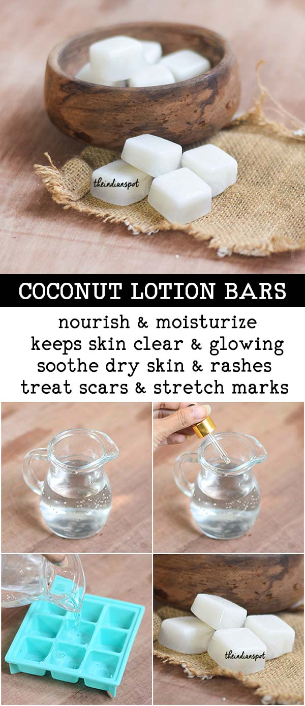COCONUT LOTION BARS