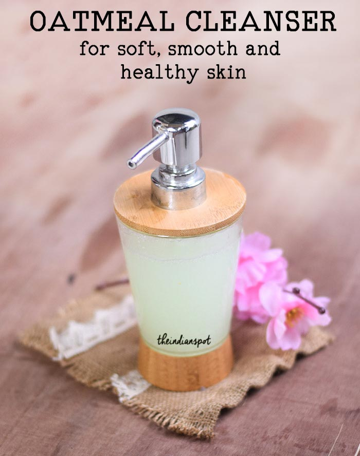 Oatmeal Face wash for soft, smooth and healthy skin