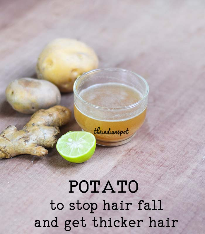POTATO MASK TO COMBAT HAIR FALL