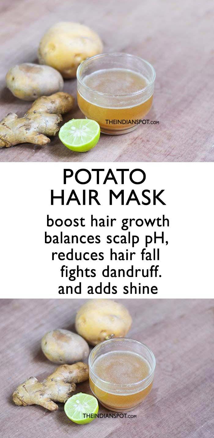 POTATO TO STOP HAIR FALL AND GET THICKER HAIR