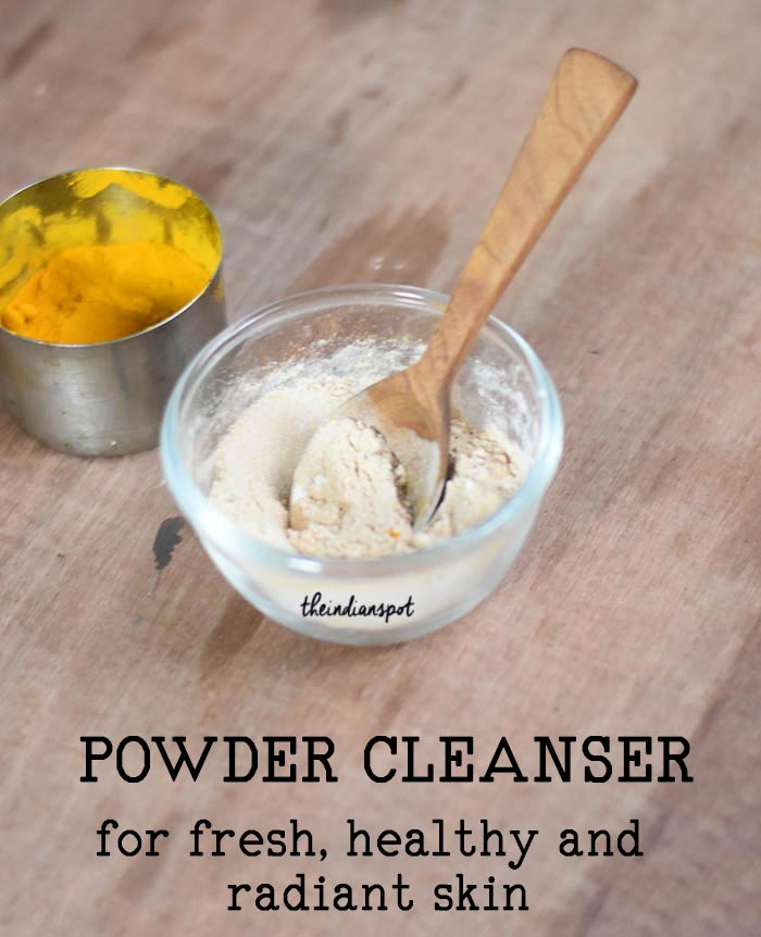 Powder Cleanser for clear, healthy and radiant skin