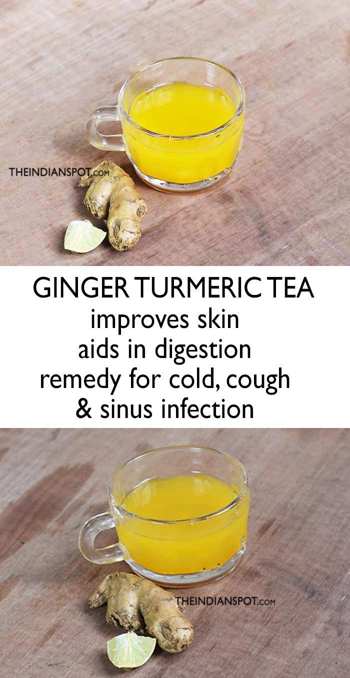 GINGER TURMERIC TEA RECIPE