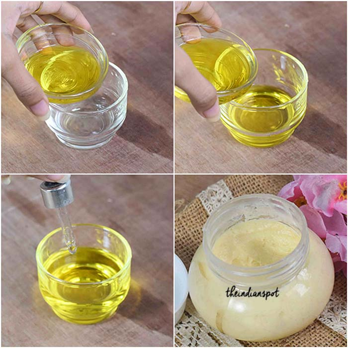 Diy Natural Body Butter To Get Rid Of Stretch Marks The Indian Spot