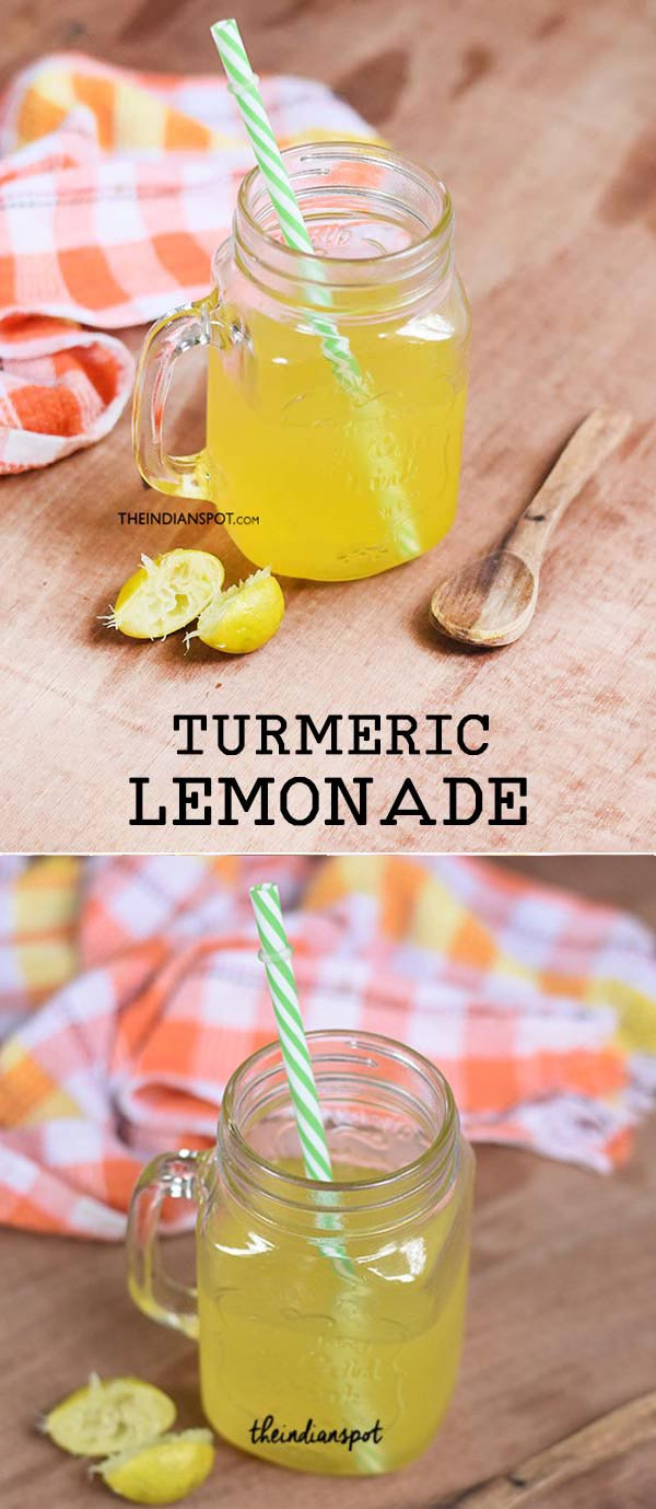 TURMERIC LEMONADE RECIPE