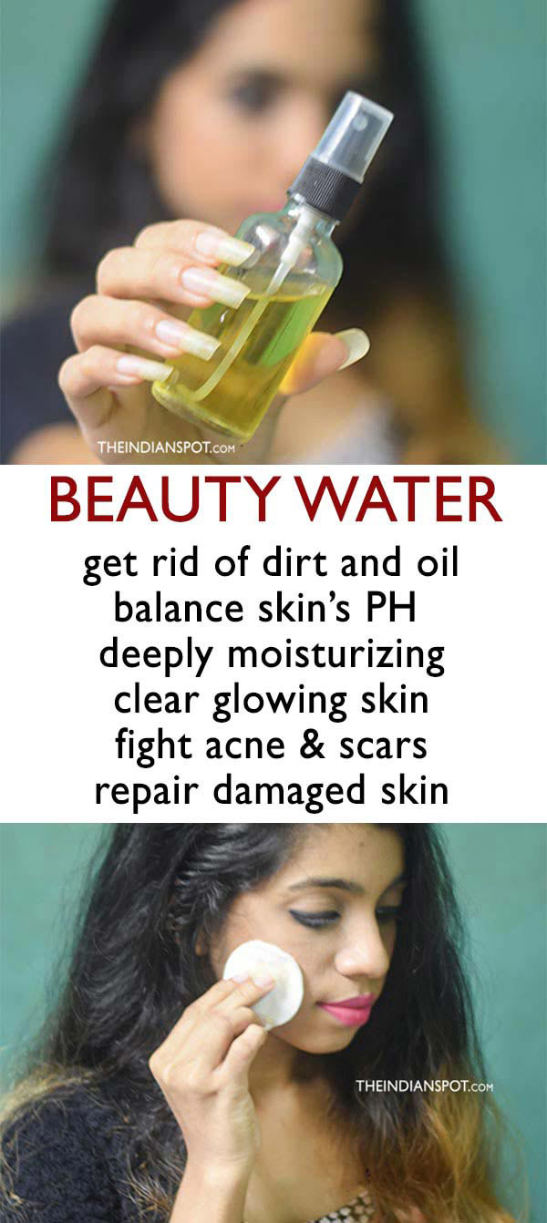 DIY BEAUTY WATER - tone and moisturize skin