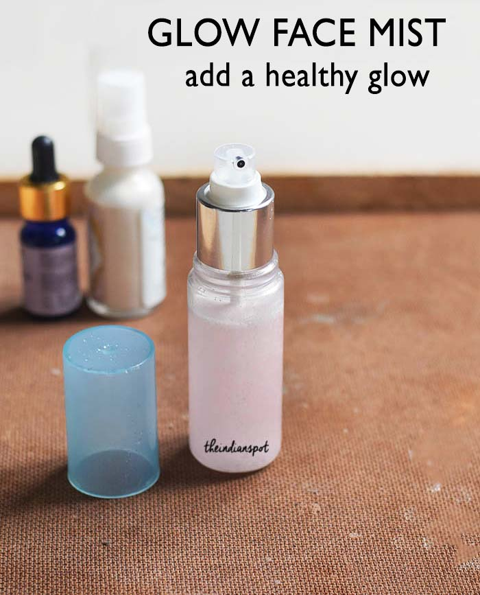 DIY GLOW FACE MIST - add a healthy glow