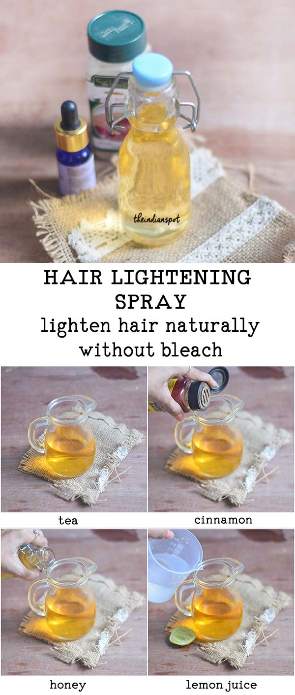 Hair Lightening Spray